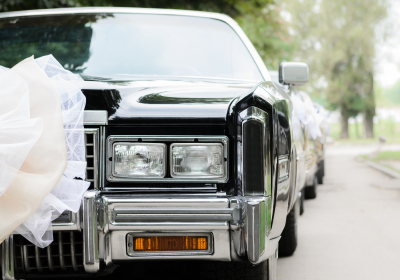 wedding black car