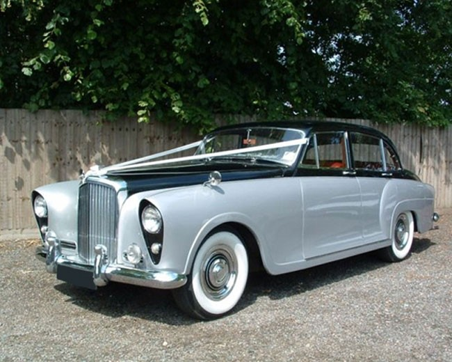 Silver Lady - Bentley Hire UK | Classic Wedding Cars in UK ...