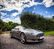 Aston Martin DB9 Hire in Wales