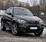 BMW X6 Hire in East Midlands