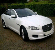 Jaguar XJL in Hackney