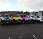Jeep Limos and 4x4 Limos in Kirkcaldy