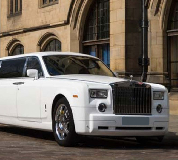 Rolls Royce Phantom Limo in Kirkcaldy