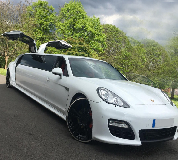 Porsche Panamera Limousine in North East
