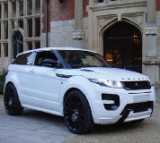 Range Rover Evoque Hire in Blackpool