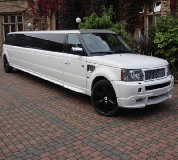 Range Rover Limo in Southend