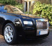 Rolls Royce Ghost - Black Hire in Leicester