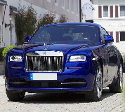 Rolls Royce Ghost - Blue Hire in Wales