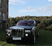 Rolls Royce Phantom - Black Hire in Leicester