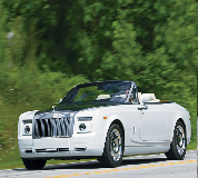 Rolls Royce Phantom Drophead Coupe Hire in Edinburgh