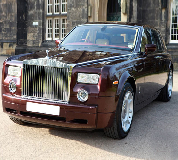 Rolls Royce Phantom - Royal Burgundy Hire in Edinburgh