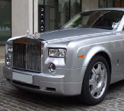 Rolls Royce Phantom - Silver Hire in Manchester