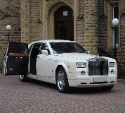 Rolls Royce Phantom Hire in East Midlands