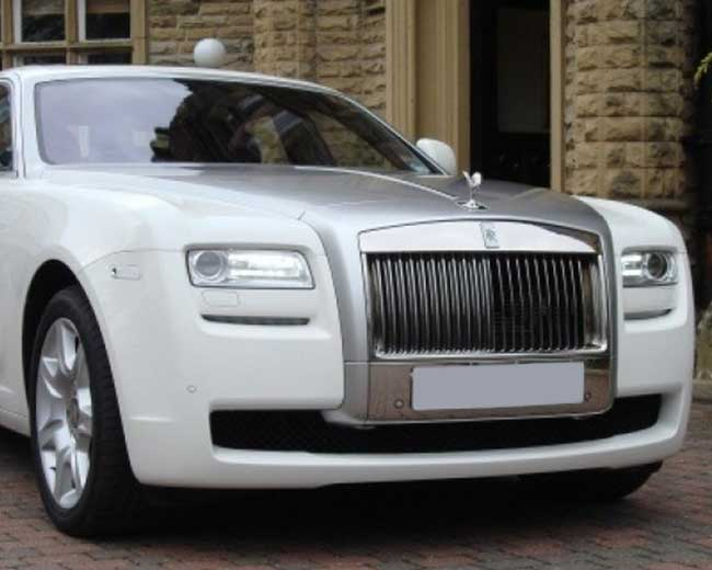 Rolls Royce Ghost - White Hire