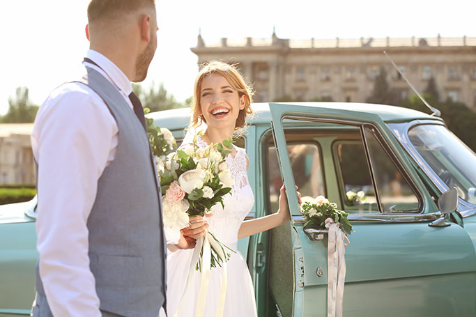 Wedding Car Hire for luxury transport