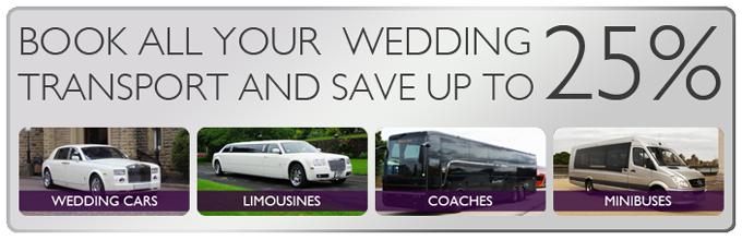 wedding car hire offers